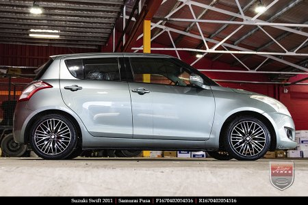 16x7.0 Samurai Fusa on SUZUKI SWIFT