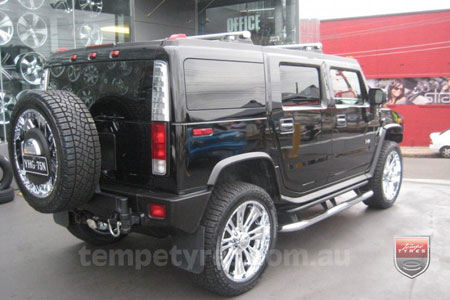 24x10 Incubus Brawn on HUMMER H2