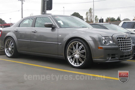 22x9.5 Lenso Symphony - BKI on CHRYSLER 300C SRT8