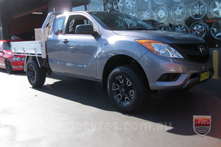 16x8.0 Ballistic Havoc on MAZDA BT50