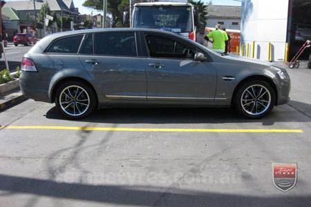 17x7.5 Lenso Eurostyle 7 ES7 on HOLDEN VE WAGON