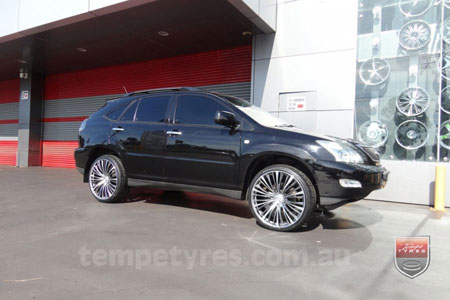 22x9.0 Lenso ESA on LEXUS RX350