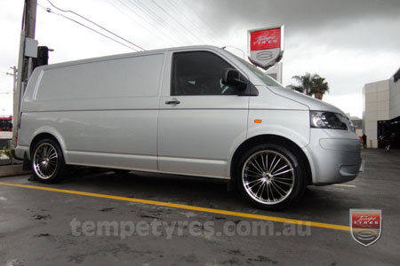 20x8.5 Lenso OP3 on VW TRANSPORTER