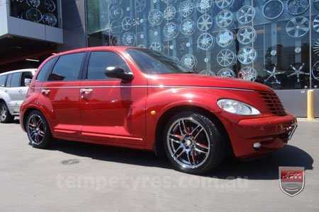 18X8.0 K-Box Charmander on CHRYSLER PT CRUISER