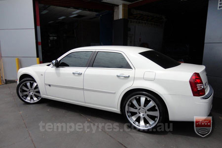 22x9.5 Lenso Concerto - BKI on CHRYSLER 300C