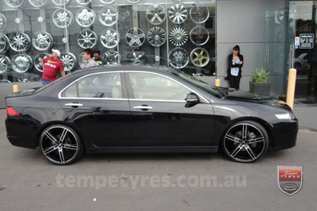 20x8.5 Lenso Eurostyle 6 ES6 on HONDA ACCORD EURO