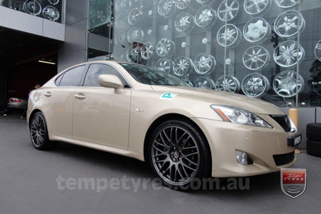 19x8.5 Lenso Type-M DG on LEXUS IS250