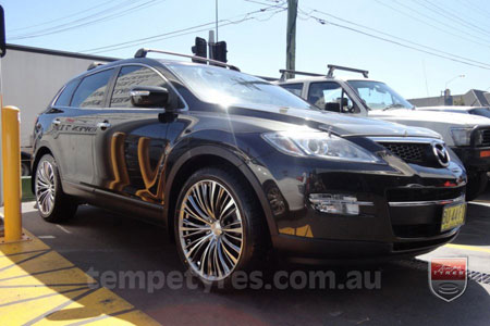 22x9.0 Lenso ESA on MAZDA CX9