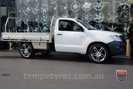 20x8.5 20x9.5 Lenso Conquista 4 CQ4 on TOYOTA HILUX