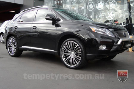 22x9.0 Lenso ESA on LEXUS RX450H