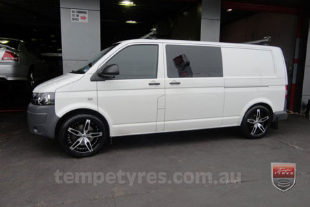 20x8.5 Giovinco G-05 on VW TRANSPORTER