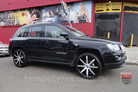 20x8.5 Incubus Zenith - MB on JEEP COMPASS