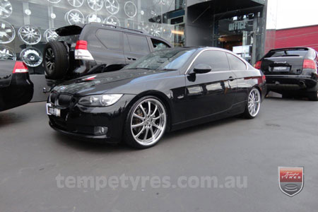 20x8.5 20x9.5 Lenso OP1 on BMW 3 SERIES
