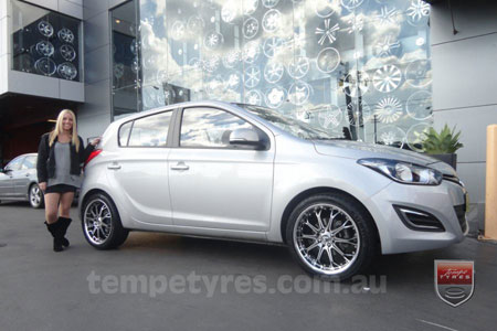 17x7.0 Lenso OP4 on HYUNDAI i20
