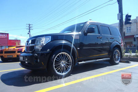 20x8.5 Lenso OP3 on DODGE NITRO