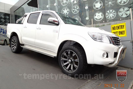 20x9.0 Lenso Intimidator 6 DFS IM6 on TOYOTA HILUX