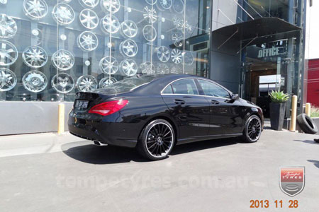 19x8.5 19x9.5 C63 Limited MB on MERCEDES CLA CLASS