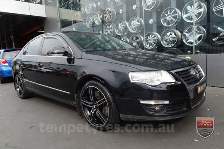 18x8.0 Lenso Eurostyle 6 ES6 on VW PASSAT