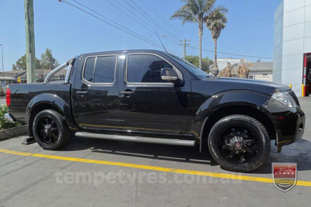 20x9.0 Ballistic Anvil on NISSAN NAVARA