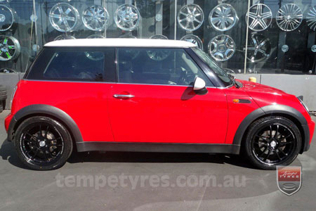 17x7.0 Lenso Light-S2 on MINI COOPER