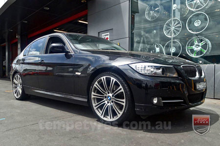 19x8.0 19x9.0 E92M3 on BMW 3 SERIES