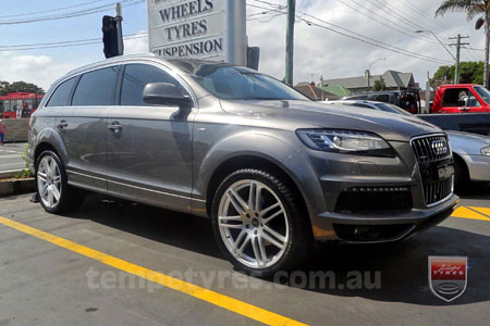 20x9.0 Style201 Silver on AUDI Q7