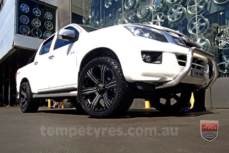 20x9.0 Ballistic Outlaw on ISUZU D-MAX