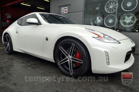 20x8.5 20x10 Lenso Conquista 6 CQ6 on NISSAN 370Z