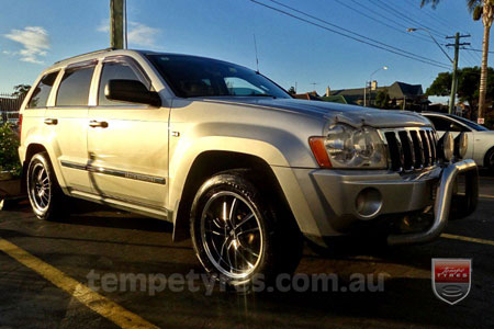 18x7.5 Lenso Eurostyle 7 ES7 on JEEP GRAND CHEROKEE