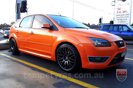 18x8.0 Lenso Type-M DG on FORD XR5