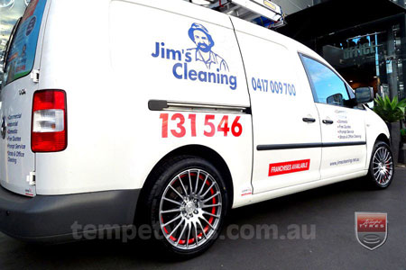 17x7.5 Fox X-tuning on VW CADDY