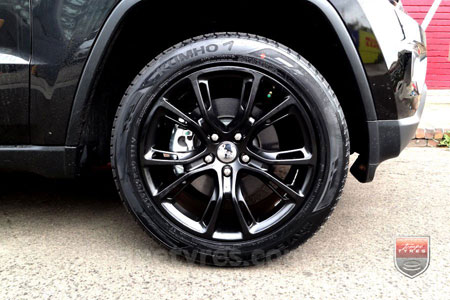 20x10 SRT8 Spider Monkey SB on JEEP GRAND CHEROKEE