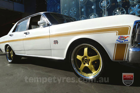 on FORD FALCON