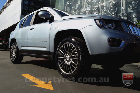 18x8.0 Lenso Como - HB on JEEP COMPASS