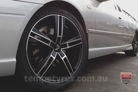 18x8.0 Lenso Eurostyle 6 ES6 on FORD FALCON