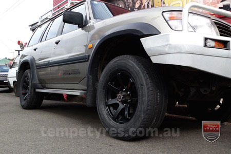 17x8.0 Lenso RT-Concave on NISSAN PATROL