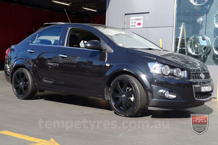 17x7.0 RS Flawless 0450 on HOLDEN BARINA