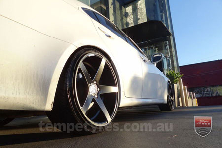 20x9.0 20x10.5 Lenso Conquista 7 MKS CQ7 on LEXUS IS250