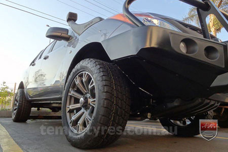 20x9.0 Lenso Intimidator 6 DFS IM6 on MAZDA BT50