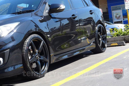19x8.5 Oxxo Wheels 0492 on MAZDA 3