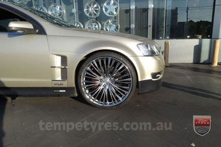 22x9.0 Lenso ESA on HOLDEN HSV
