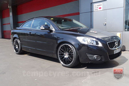 19x8.5 Lenso Type-M MBJ on VOLVO C70