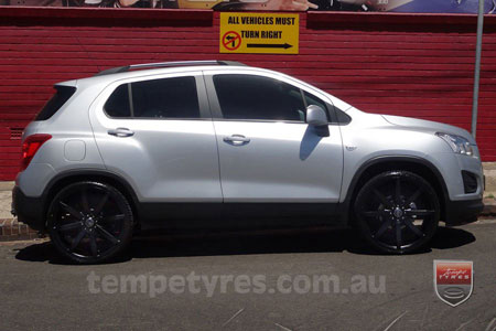 22x8.5 Incubus Zenith - FB on HOLDEN TRAX