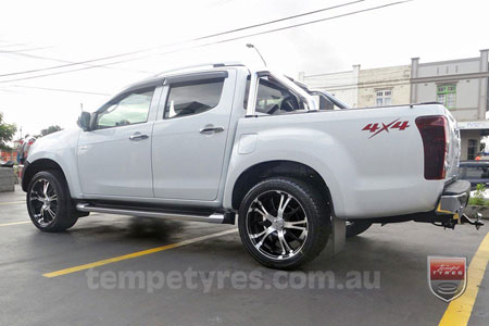 20x9.0 Panther Vector on ISUZU D-MAX