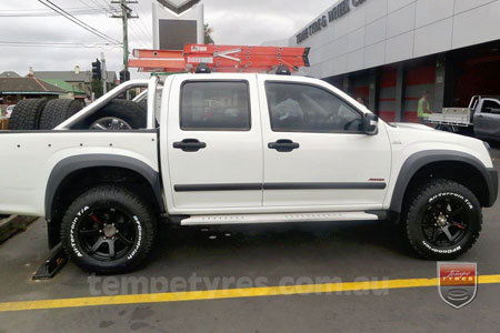 17x8.0 Lenso RT-Concave on HOLDEN RODEO