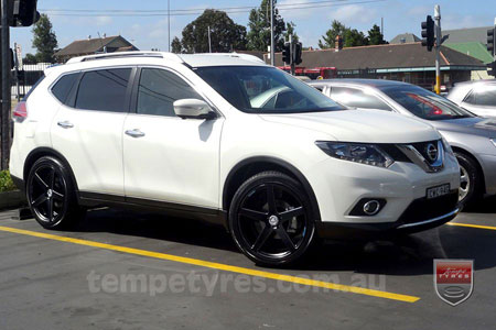 20x9.0 20x10.5 Lenso Conquista 7 MKS CQ7 on NISSAN X-TRAIL