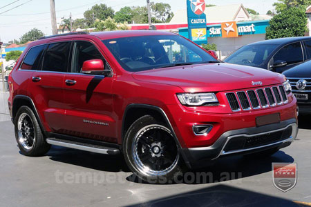 20x8.5 Lenso DF1 on JEEP GRAND CHEROKEE