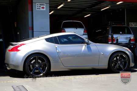 20x9.0 20x10.5 Lenso Conquista 7 MKS CQ7 on NISSAN 370Z