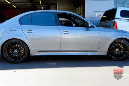 20x8.5 20x9.5 Lenso Conquista 5 CQ5 on BMW 5 SERIES