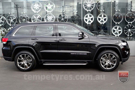 20x10 SRT8 Spider Monkey HB on JEEP GRAND CHEROKEE